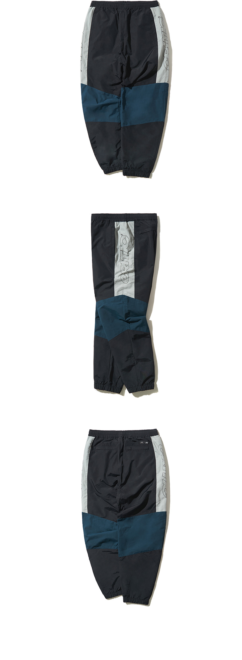 SIDE LOGO TRACK PANTS(BLACK)_CTONAPT01UC6