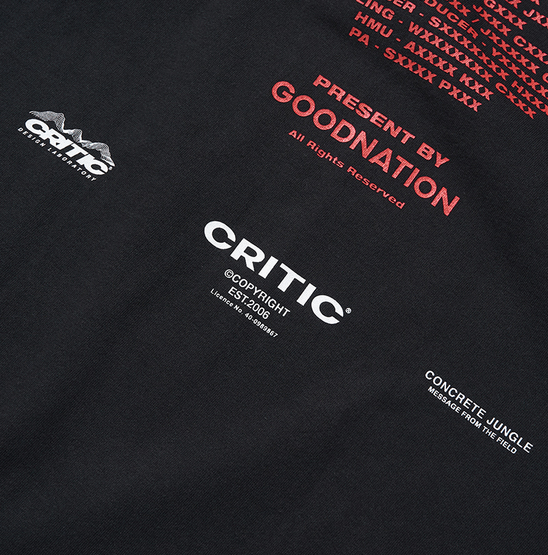 CREDIT T-SHIRT(BLACK)_CTONARS01UC6