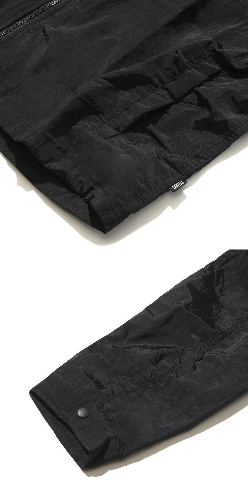 POLY ZIP-UP JACKET(BLACK)_CTONAJK02UC6