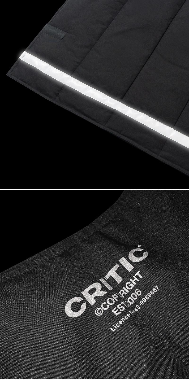 크리틱(CRITIC) UTILITY VEST(BLACK)_CTONAVT01UC6