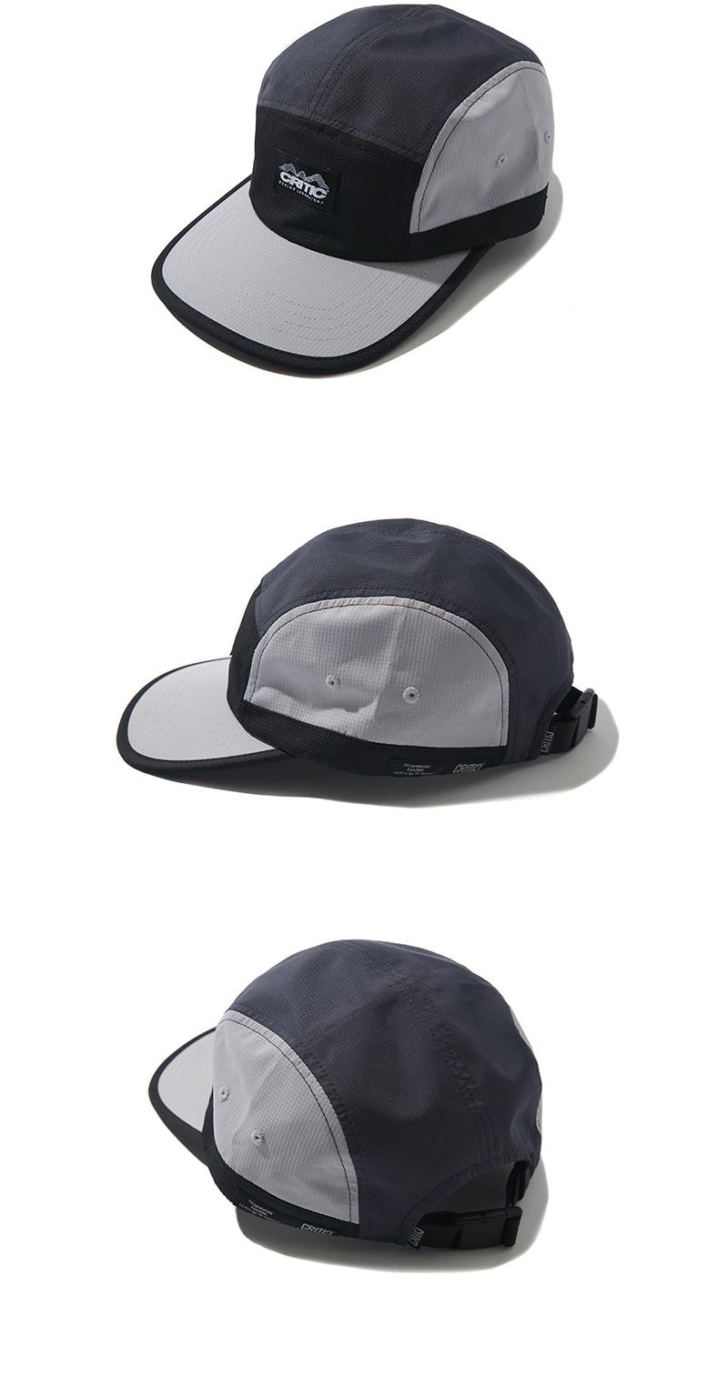 3 TONE CAMP CAP(BLACK)_CTONIHW04UC6