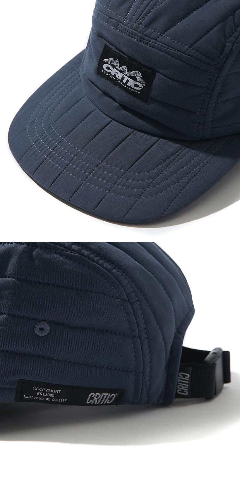 QUILTED CAMP CAP(NAVY)_CTONAHW03UN0