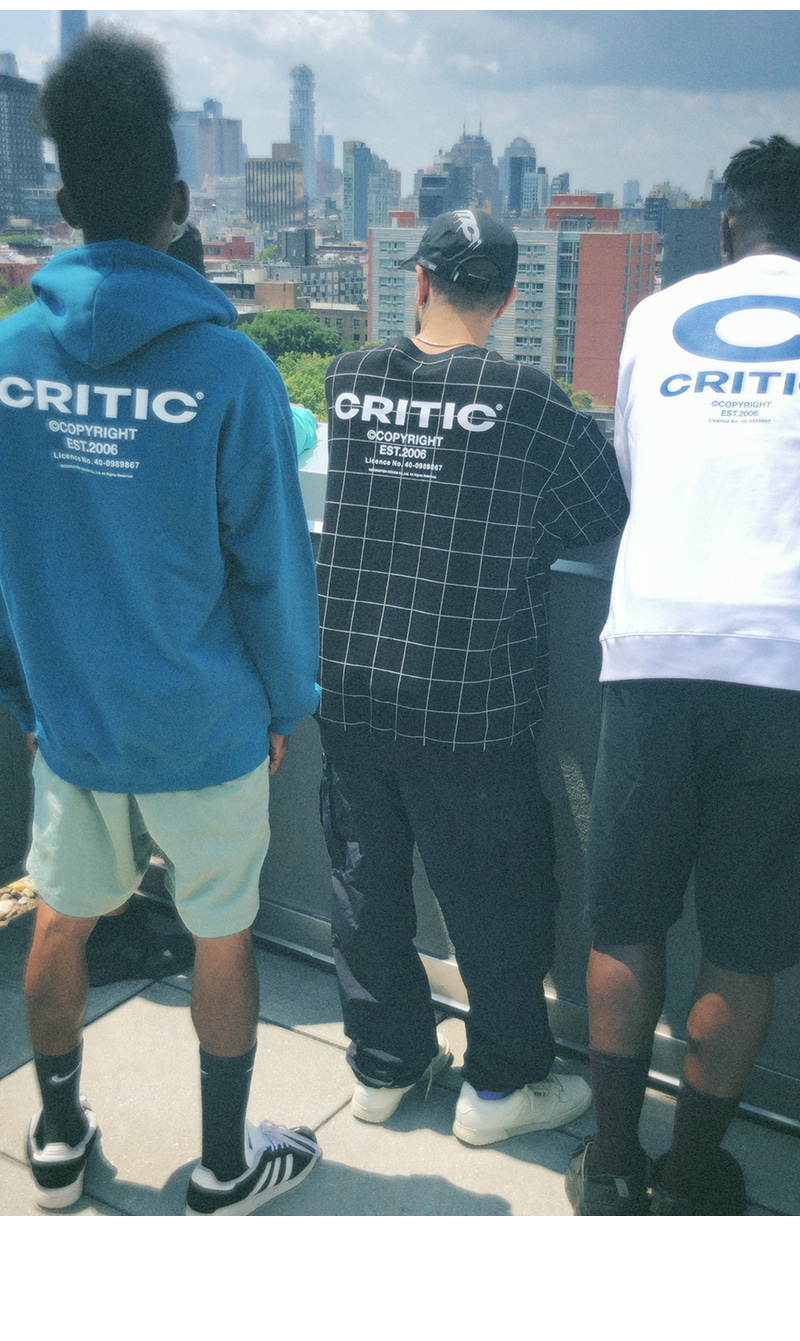 BACKSIDE LOGO HOODIE(DEEP BLUE)_CTONIHD01UB6