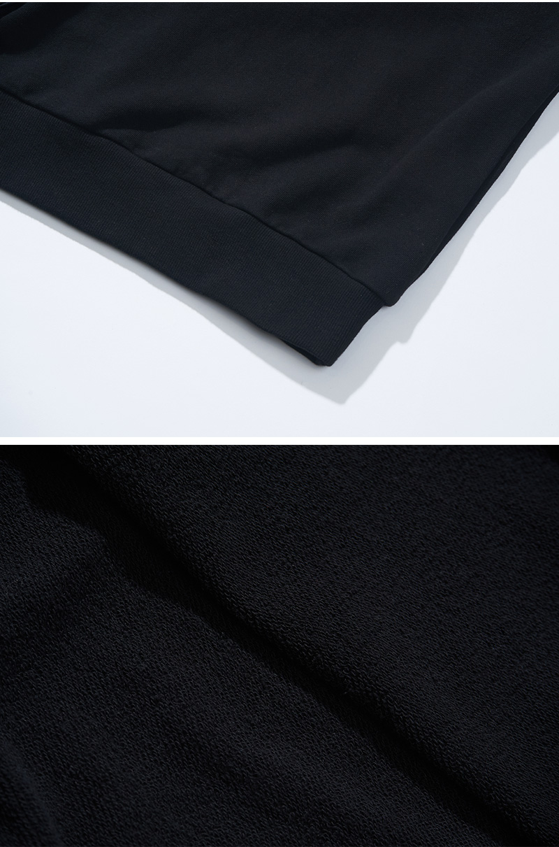 NYLON POCKET SWEATSHIRT(BLACK)_CTONACR04UC6