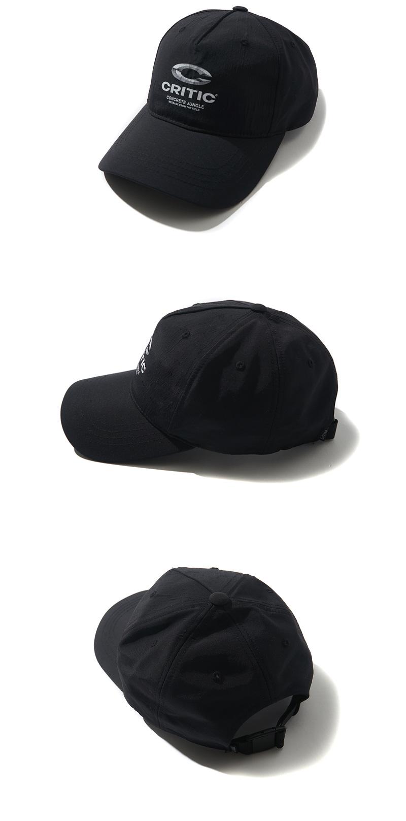 5-PANEL LOGO BALLCAP(BLACK)_CTONAHW06UC6
