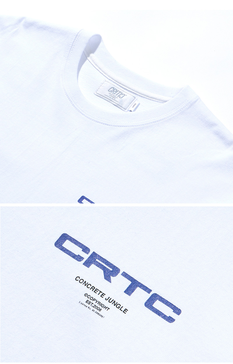 CRTC LONG SLEEVE T-SHIRT(WHITE)_CTONARL10UC2