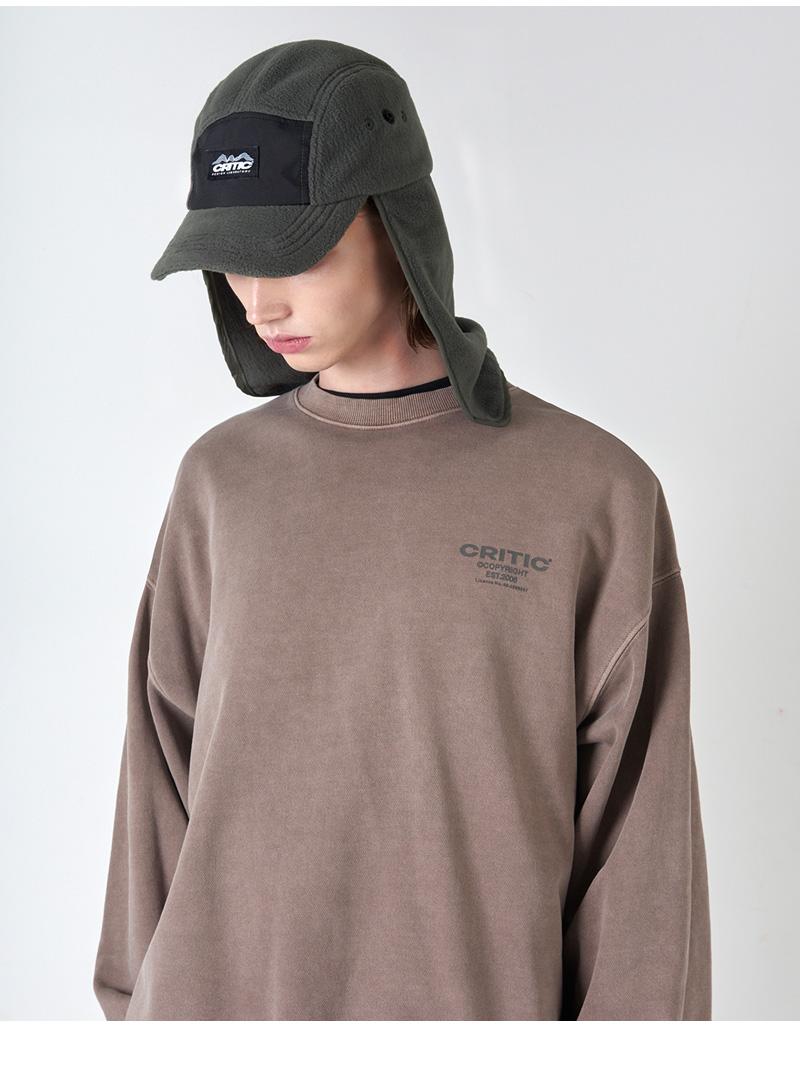 FLEECE FISHING CAP(KHAKI)_CTONIHW03UK0