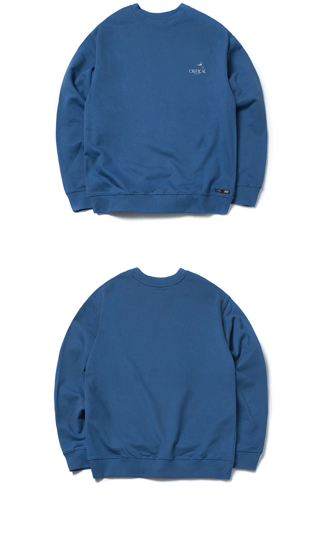 MARGARITA LOGO SWEATSHIRT(DEEP BLUE)_CTONPCR01UB6