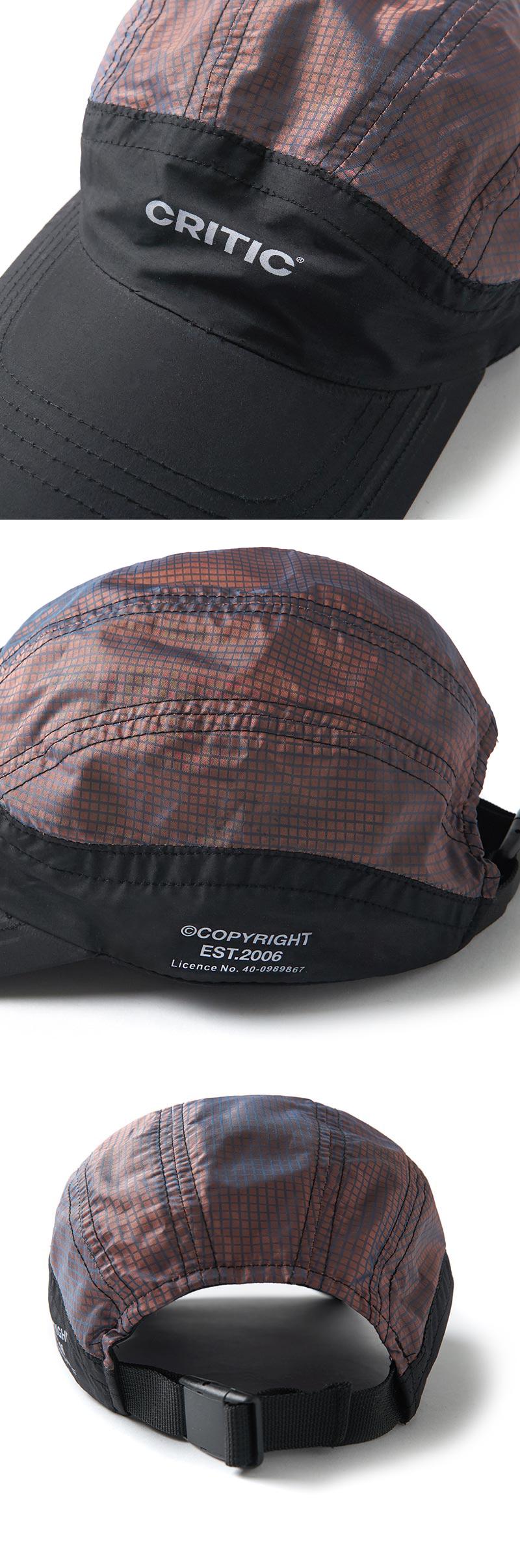 크리틱(CRITIC) TRAIL CAP(BLACK)_CTONPHW01UC6