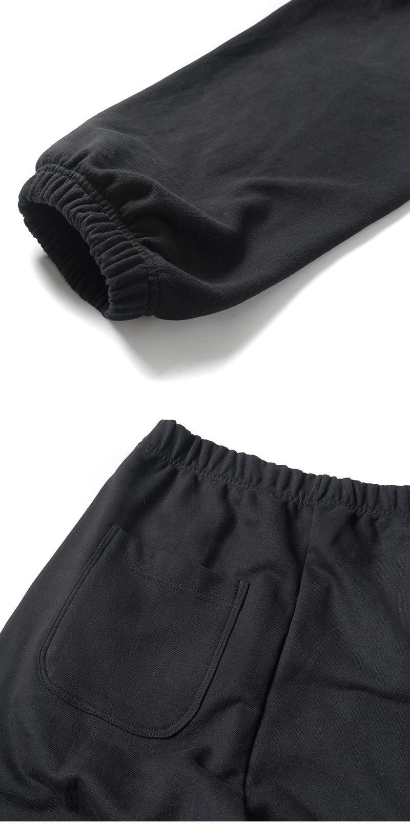 크리틱(CRITIC) SIDE LOGO SWEAT PANTS(BLACK)_CTONPPT02UC6