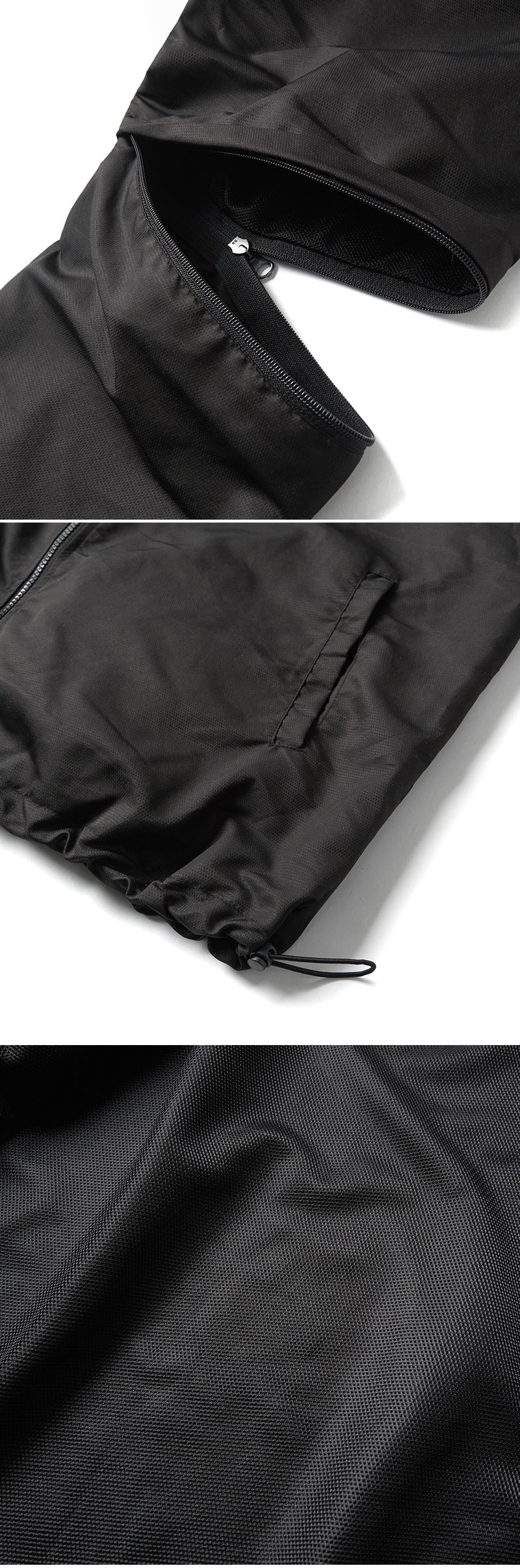ZIP TRAINING JACKET(BLACK)_CTONPJK06UC6