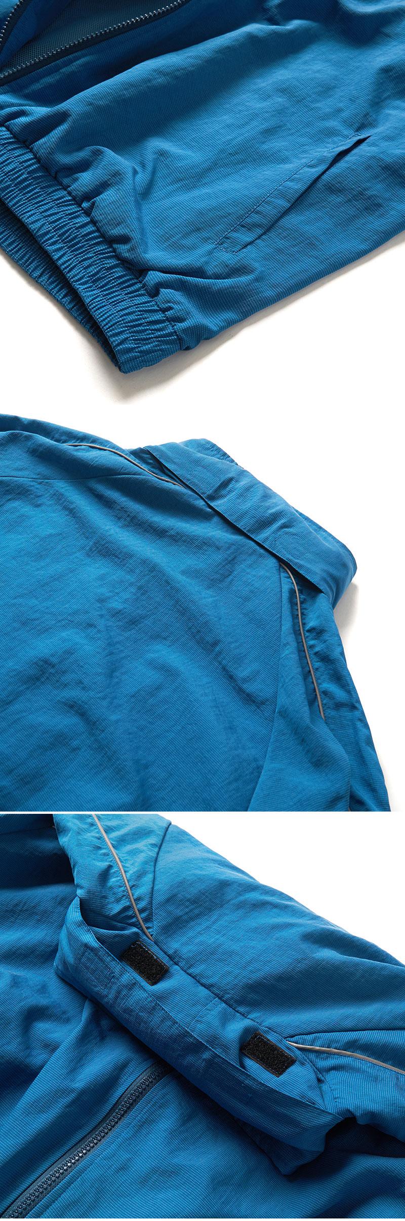 SIDE LOGO TRACK JACKET(BLUE GREEN)_CTONPJK04UB7