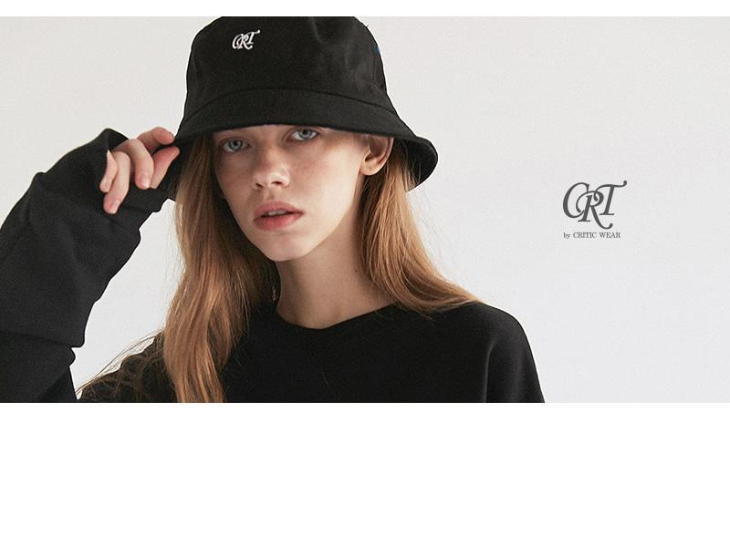 크리틱(CRITIC) CRT LOGO BUCKET HAT(BLACK)_CRONPHW02UC6