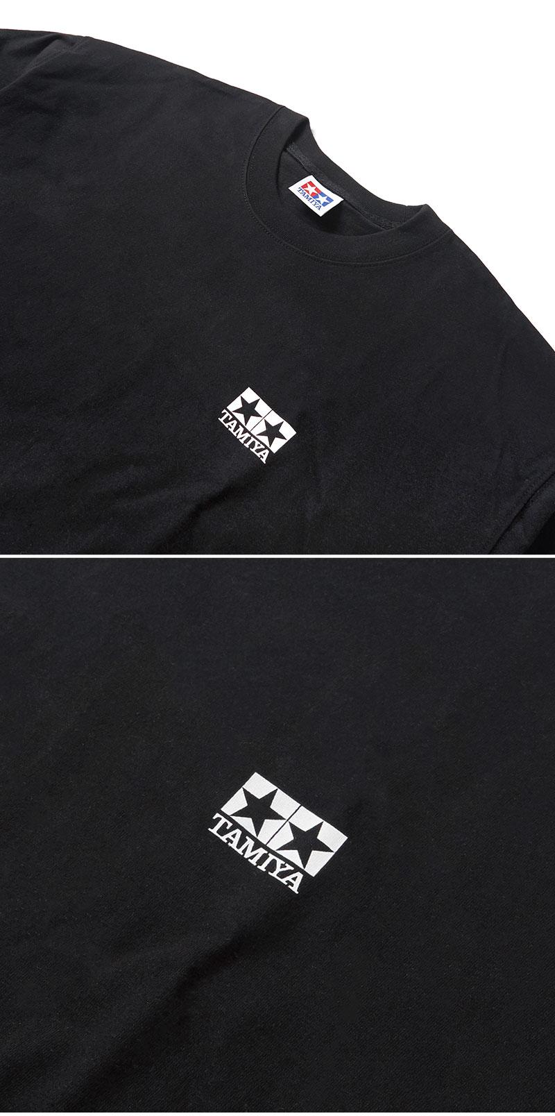 크리틱(CRITIC) TAMIYA X CRITIC SPONSOR LOGO LONG SLEEVE T-SHIRT(BLACK)_CSONURL01UC6