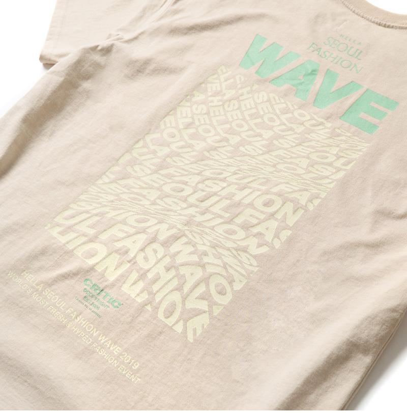 WAVE SFW T-SHIRT(L/BEIGE)_CTONPRS03UE3