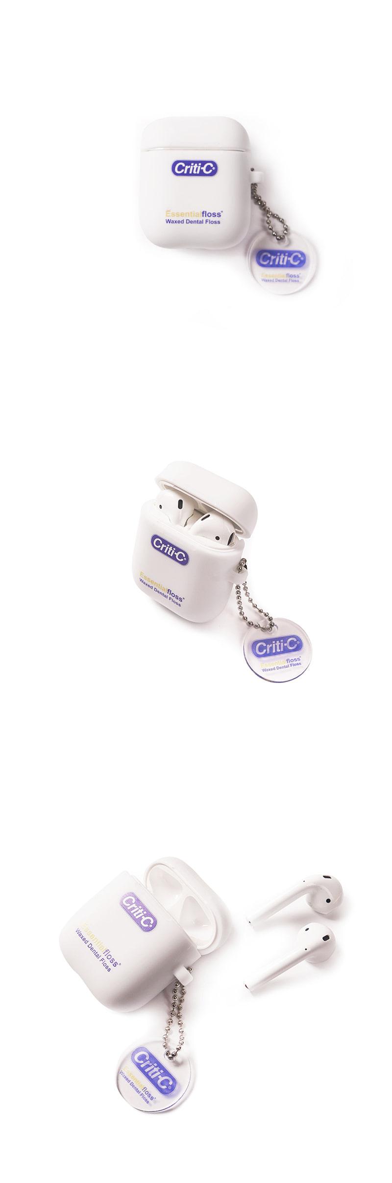크리틱(CRITIC) CRITI-C AIRPODS CASE(WHITE)_CTONUAC01UC2