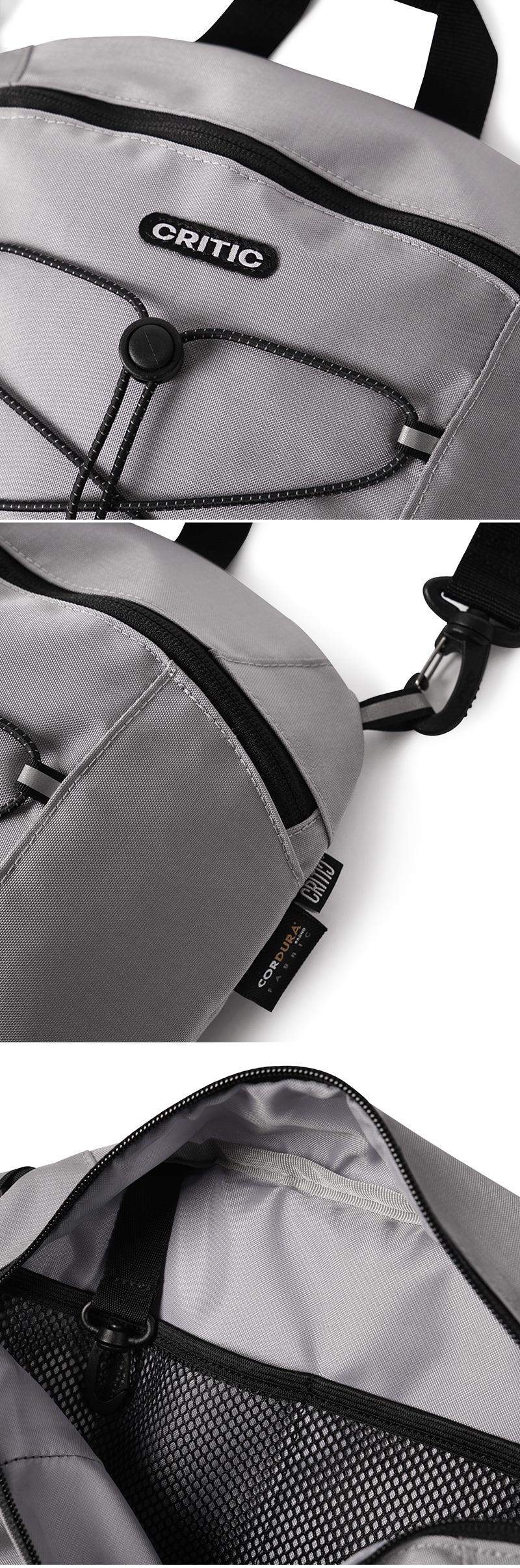 크리틱(CRITIC) CORDURA® CROSS BAG(GRAY)_CTONUBG01UC0