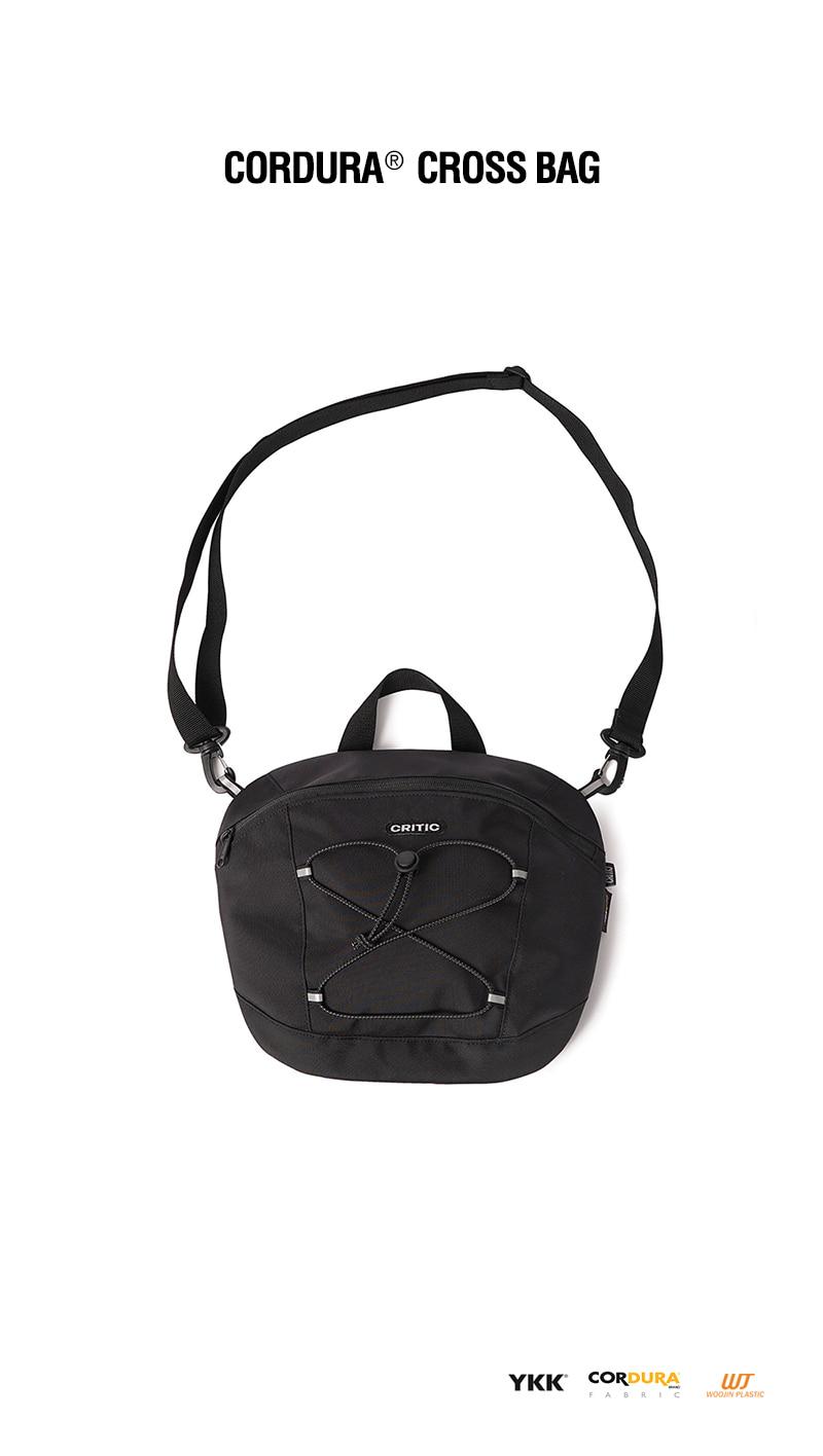 크리틱(CRITIC) CORDURA® CROSS BAG(BLACK)_CTONUBG01UC6