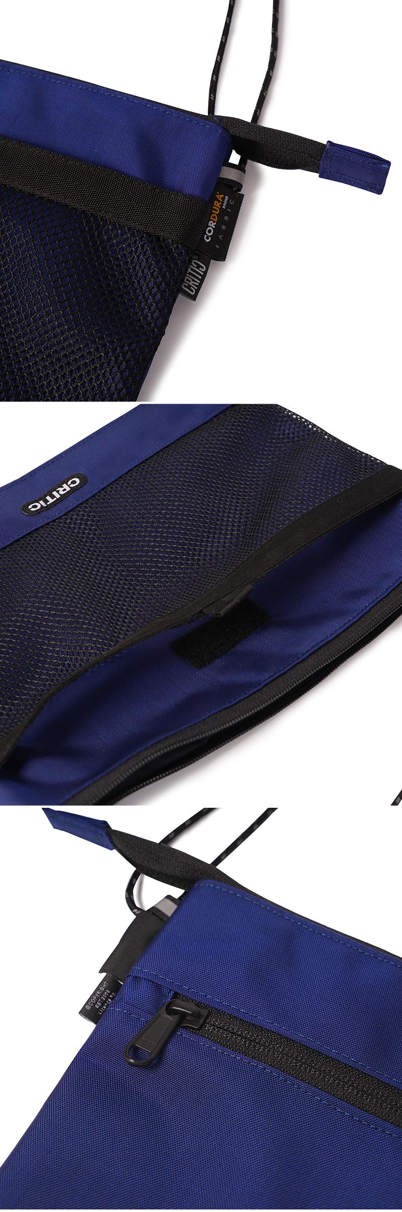 크리틱(CRITIC) CORDURA® SACOCHE BAG(ROYAL BLUE)_CTONUBG02UB3