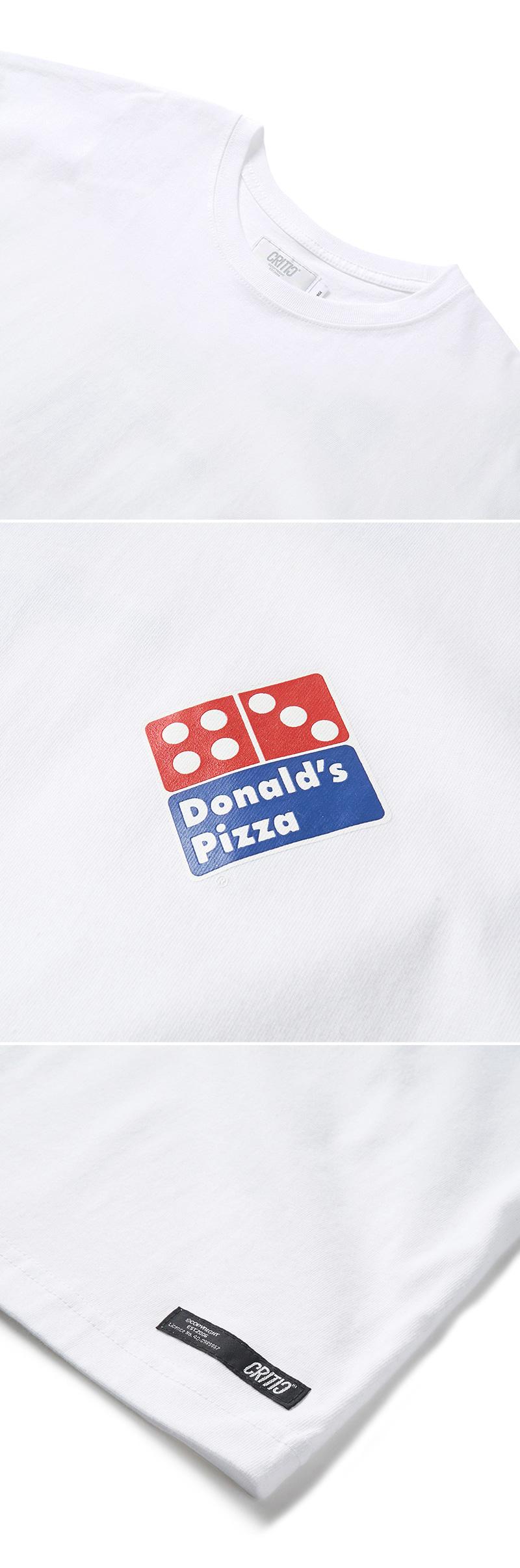크리틱 PIZZA BOY PSYCHO BUTCHER T-SHIRT(WHITE)_CTONURS02UC2