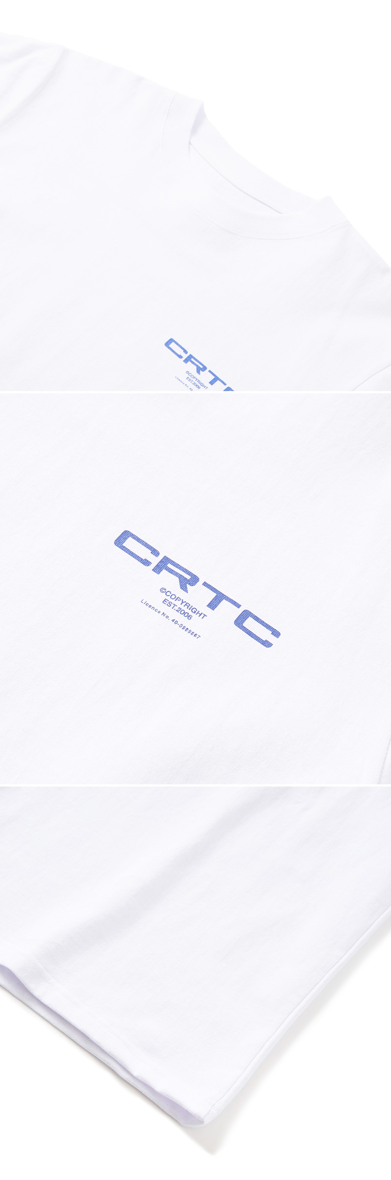 크리틱 CRTC T-SHIRT(WHITE)_CTONURS04UC2