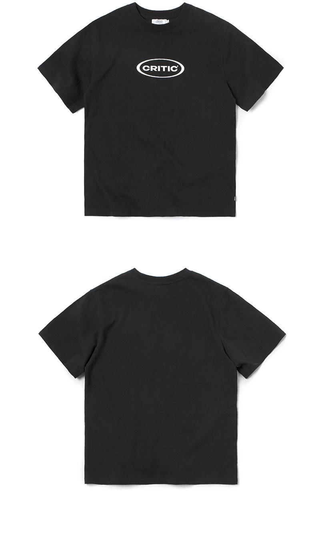 크리틱 OVAL LOGO T-SHIRT(BLACK)_CTONURS14UC6