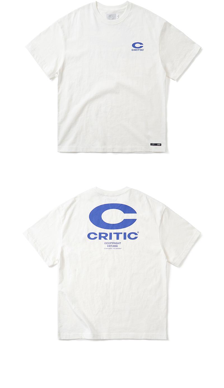 크리틱 BIG C LOGO T-SHIRT(WHITE)_CTONURS15UC2