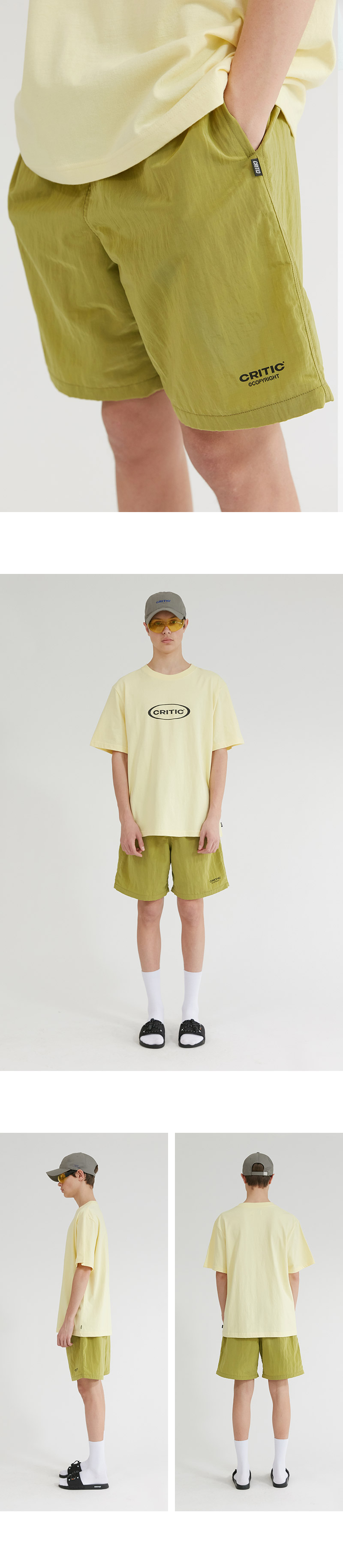 크리틱 BOARD SHORTS(OLIVE GREEN)_CTONUSP02UG4