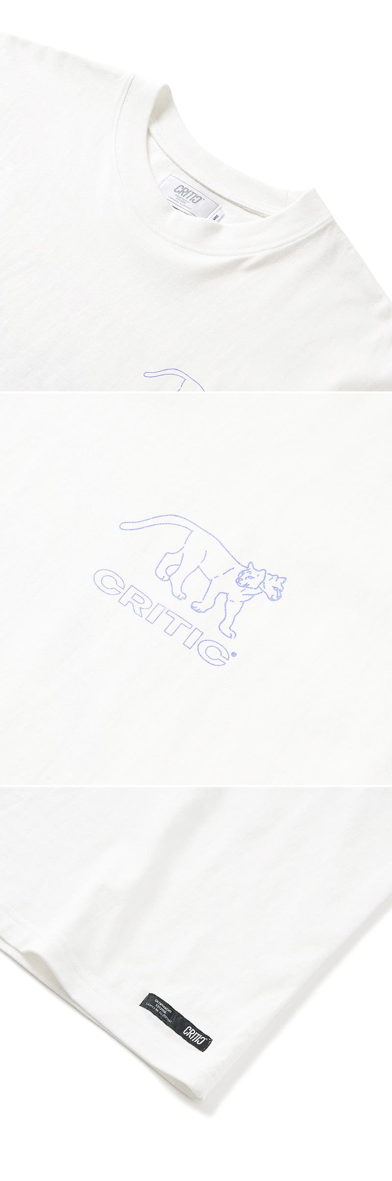 크리틱 TWO FACE T-SHIRT(WHITE)_CTONURS20UC2