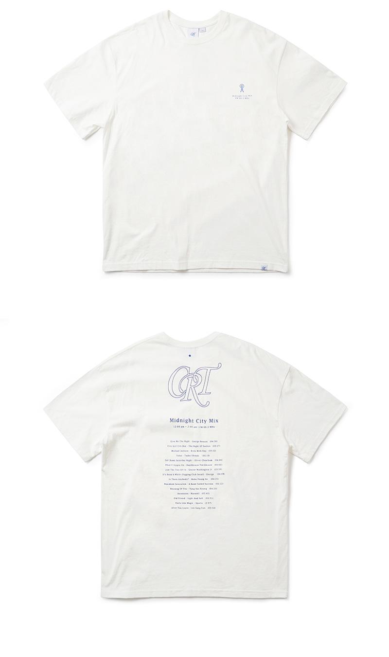 크리틱 CRT MIDNIGHT MIX T-SHIRT(WHITE)_CRONURS06UC2