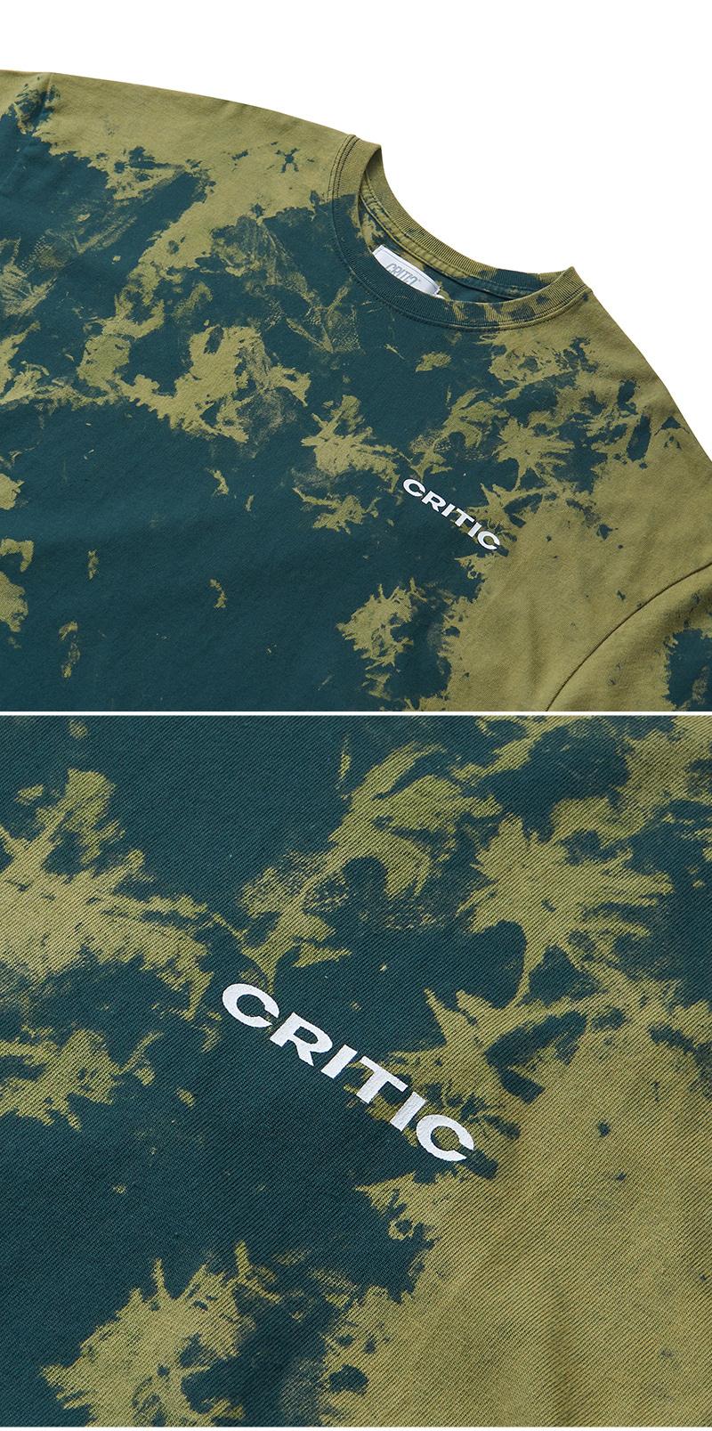 크리틱(CRITIC) BACKSIDE LOGO T-SHIRT(FOREST GREEN)_CTONURS26UG1