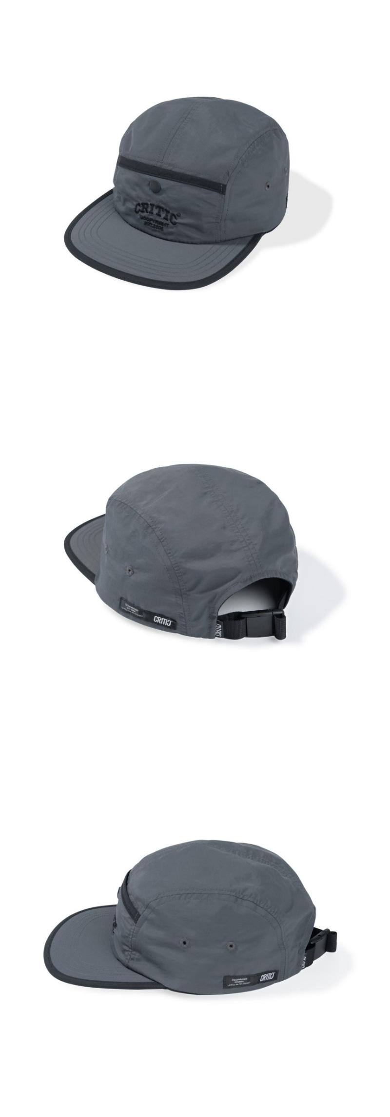 POCKET CAMP CAP(CHARCOAL)_CTTZAHW01UC1