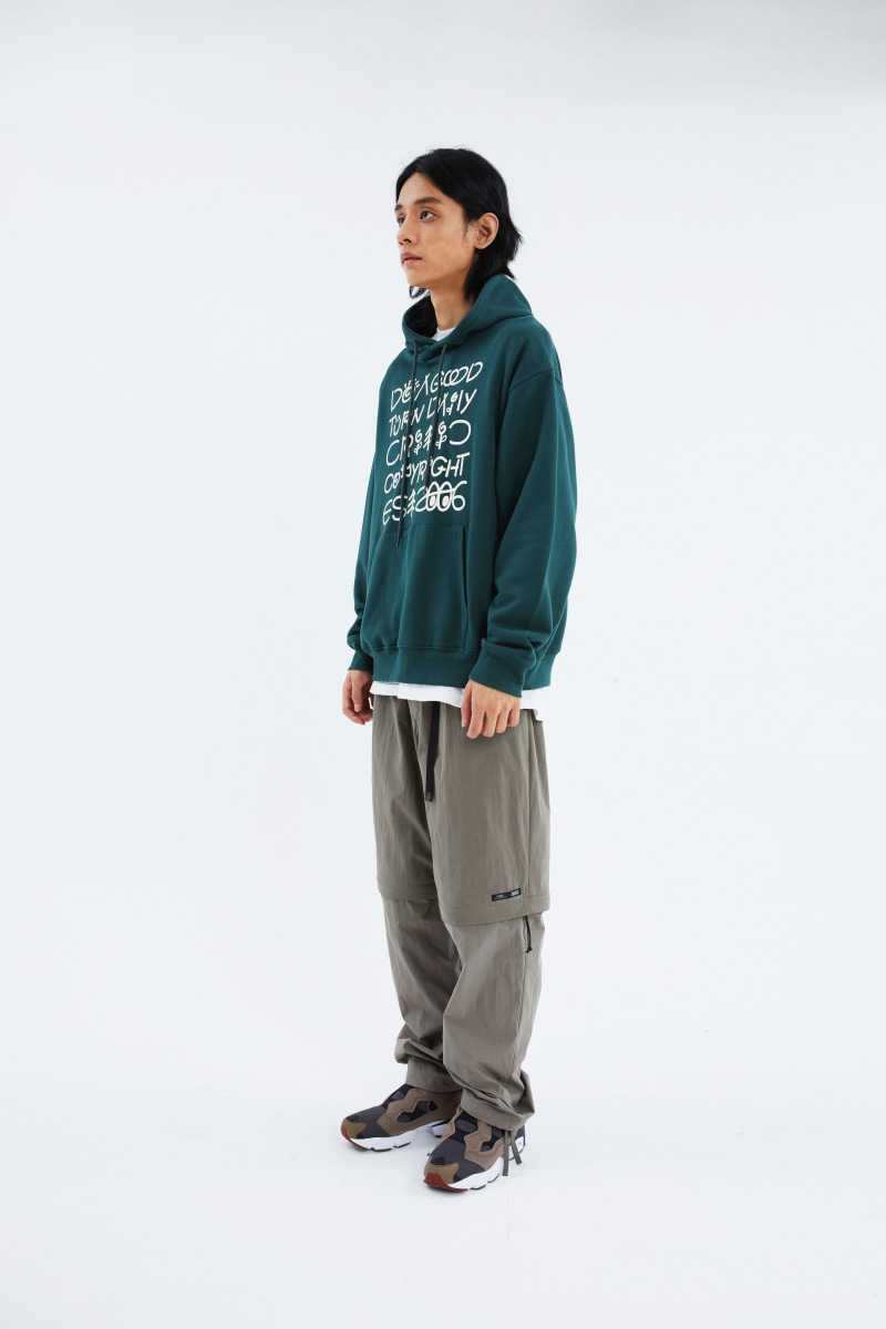 SCOUTS LETTERING HOODIE(FOREST GREEN)_CTTZAHD02UG1