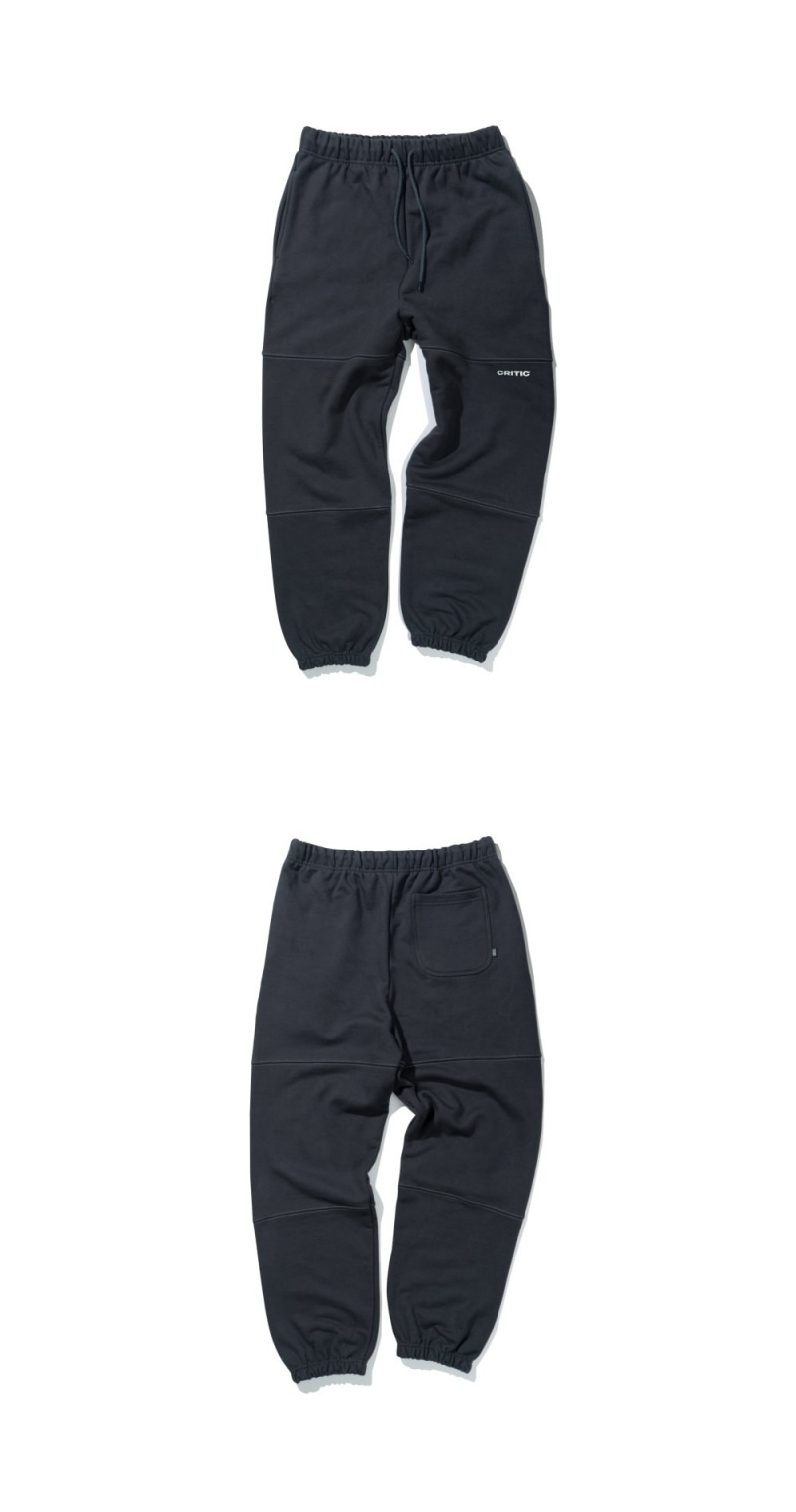 HEAVY SWEAT PANTS(CHARCOAL)_CTTZIPT02UC1