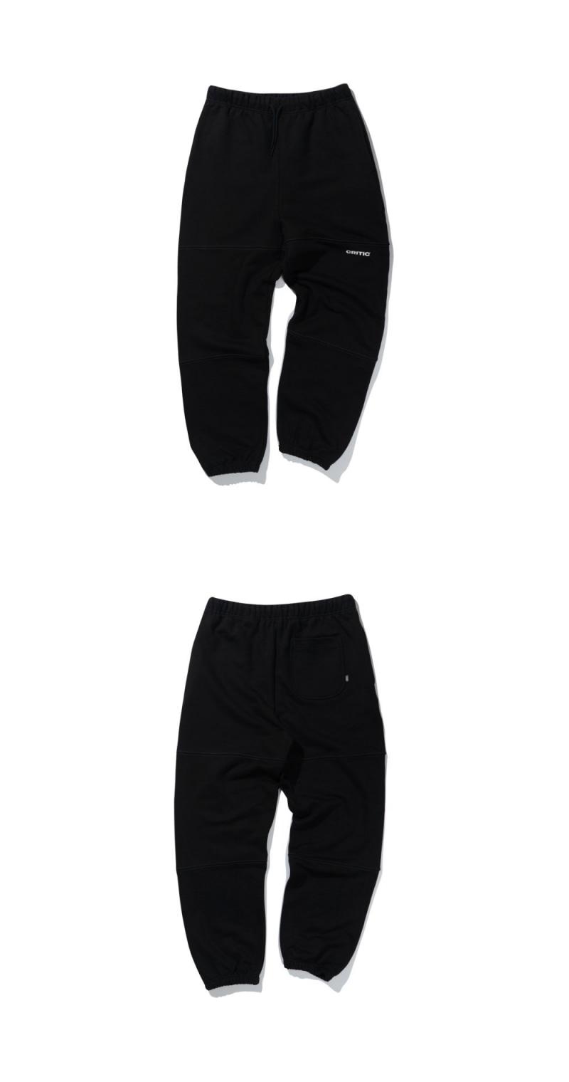 HEAVY SWEAT PANTS(BLACK)_CTTZIPT02UC6