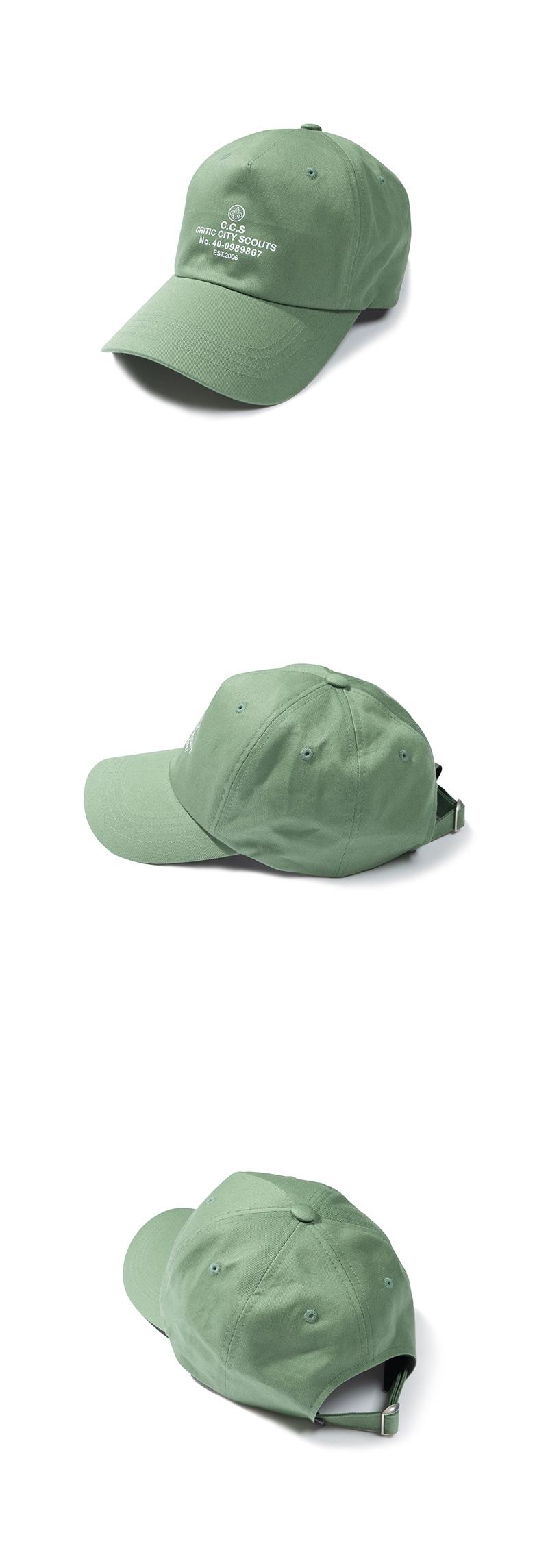 크리틱(CRITIC) CITY SCOUT LOGO BALL CAP(LIGHT MINT)_CTTZAHW03UG5