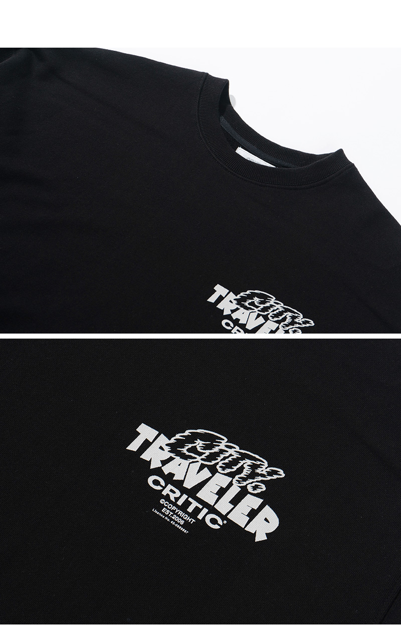 CITY TRAVELER SWEATSHIRT(BLACK)_CTTZPCR04UC6