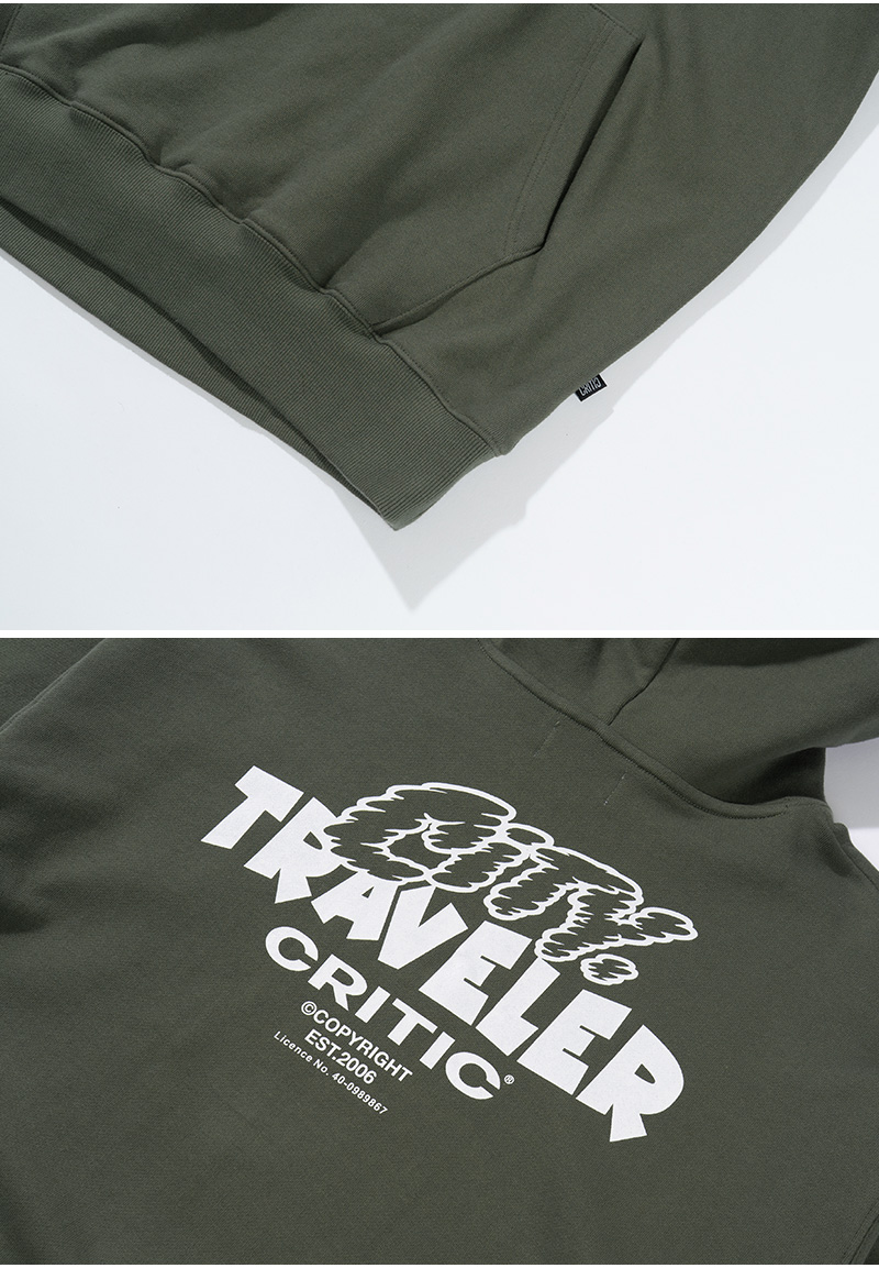 COUNTRY MOUSE HOODIE(KHAKI)_CTTZPHD04UK0