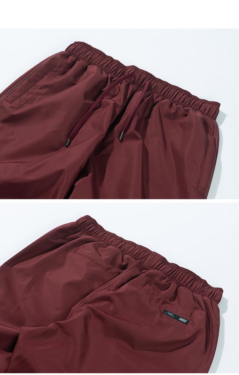 STITCH TRACK PANTS(BURGUNDY)_CTTZPPT01UP3