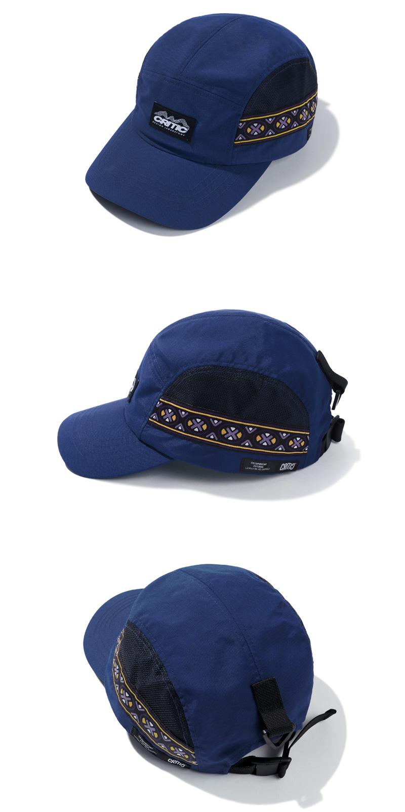 ETHNIC MESH CAMP CAP(DEEP BLUE)_CTTZPHW03UB6
