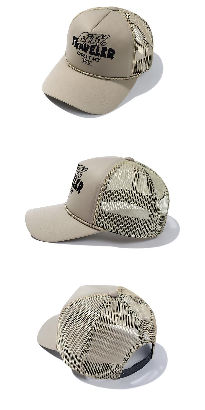 TRAVELER MESH CAP(L/BEIGE)_CTTZPHW06UE3