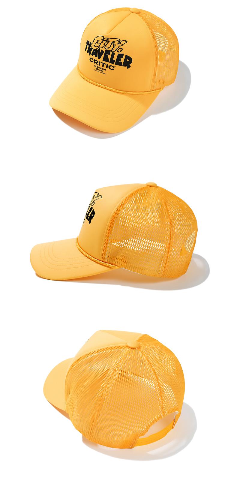 TRAVELER MESH CAP(YELLOW)_CTTZPHW06UY0