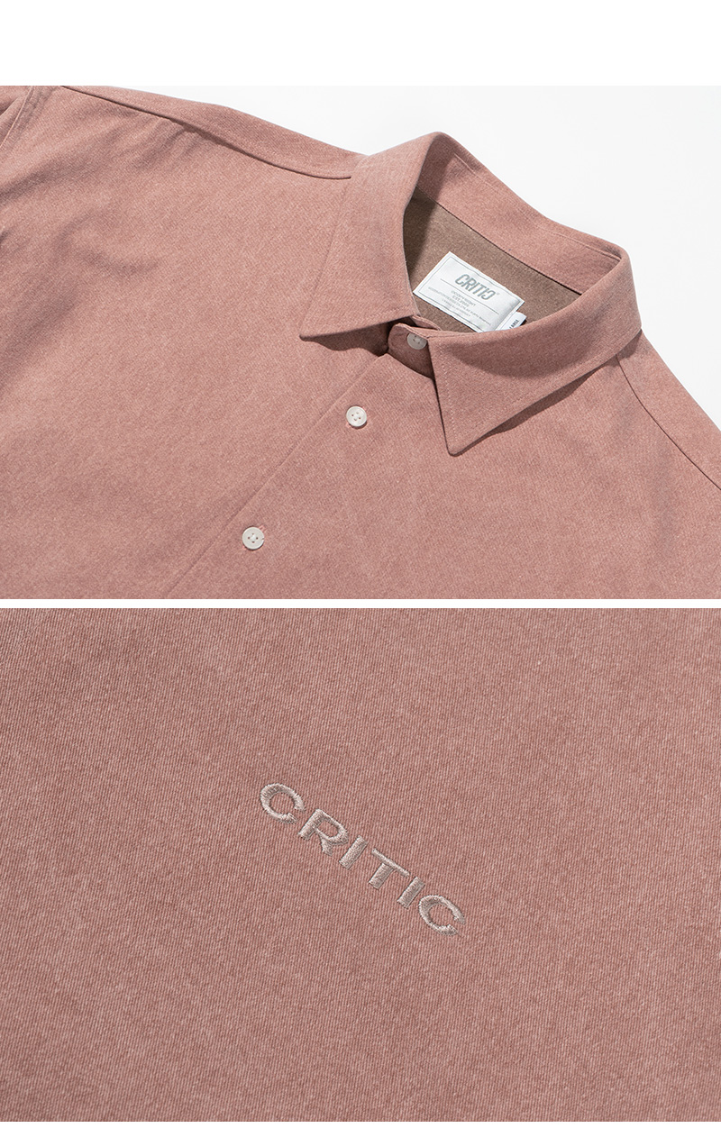TWO TONE PIGMENT SHIRTS(L/PINK)_CTTZPLS01UP0