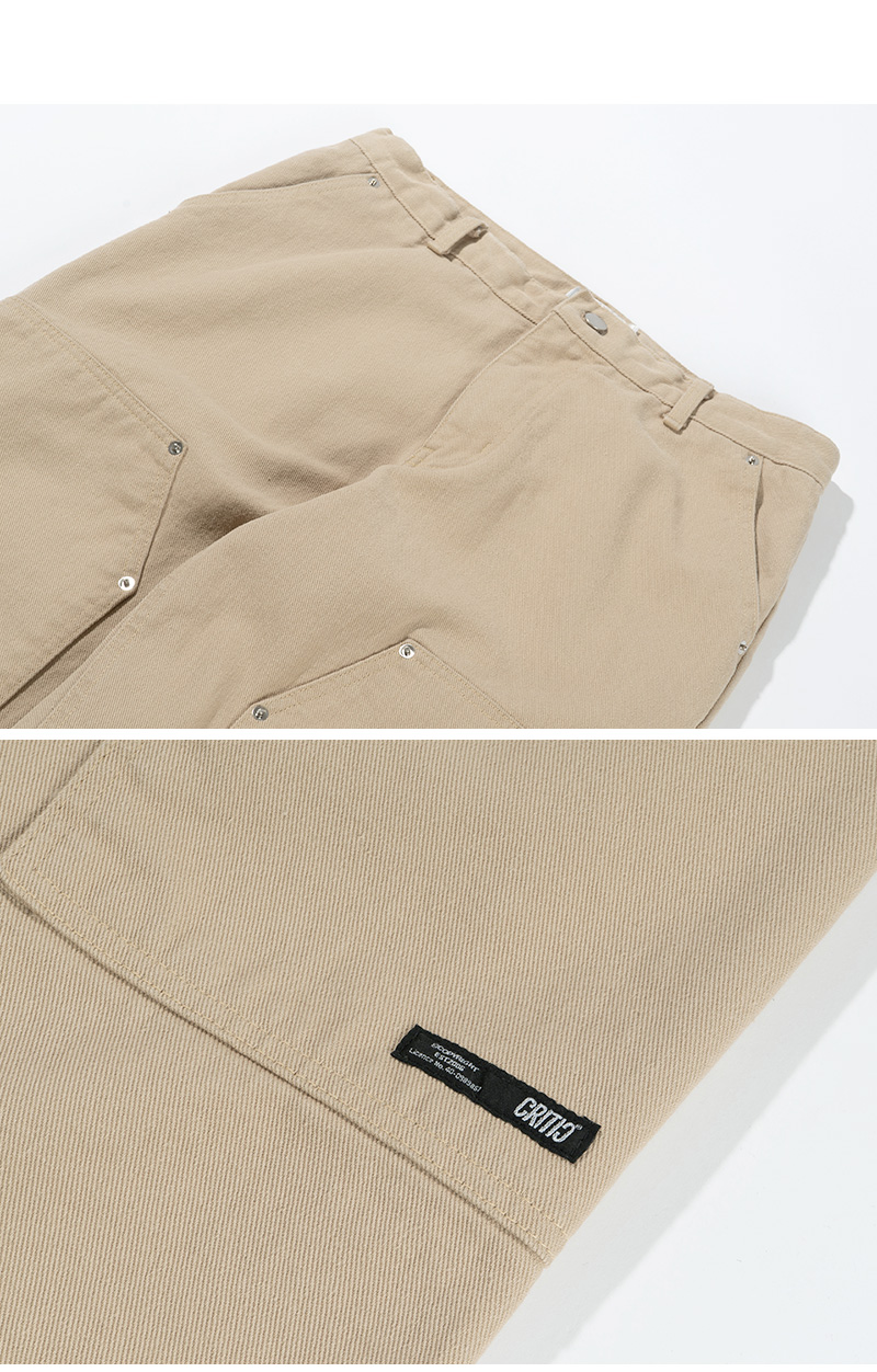 크리틱(CRITIC) TWILL WORK PANTS(L/BEIGE)_CTTZPPT05UE3