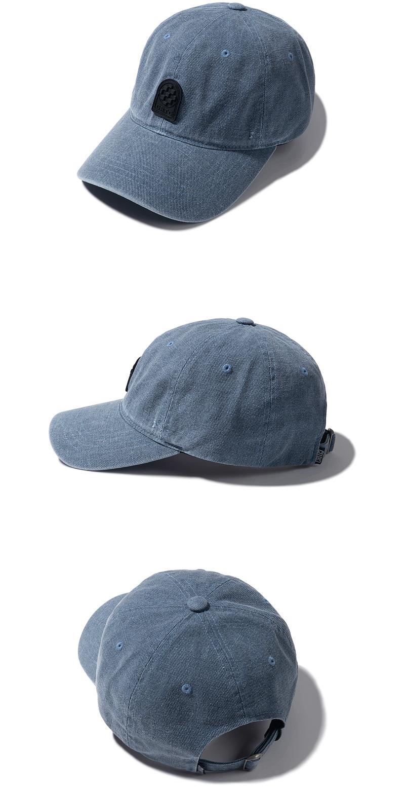 PIGMENT BALL CAP(DEEP BLUE)_CTTZPHW04UB6
