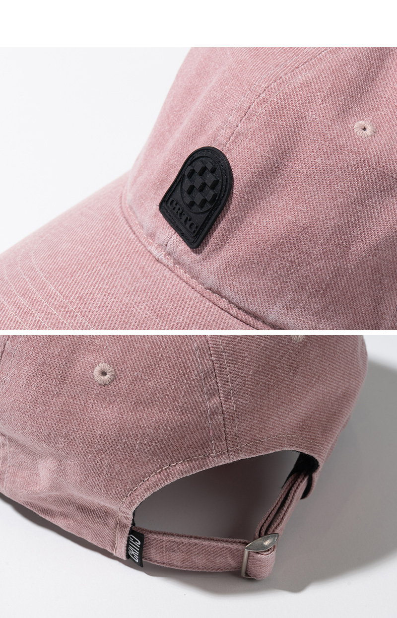 PIGMENT BALL CAP(L/PINK)_CTTZPHW04UP0