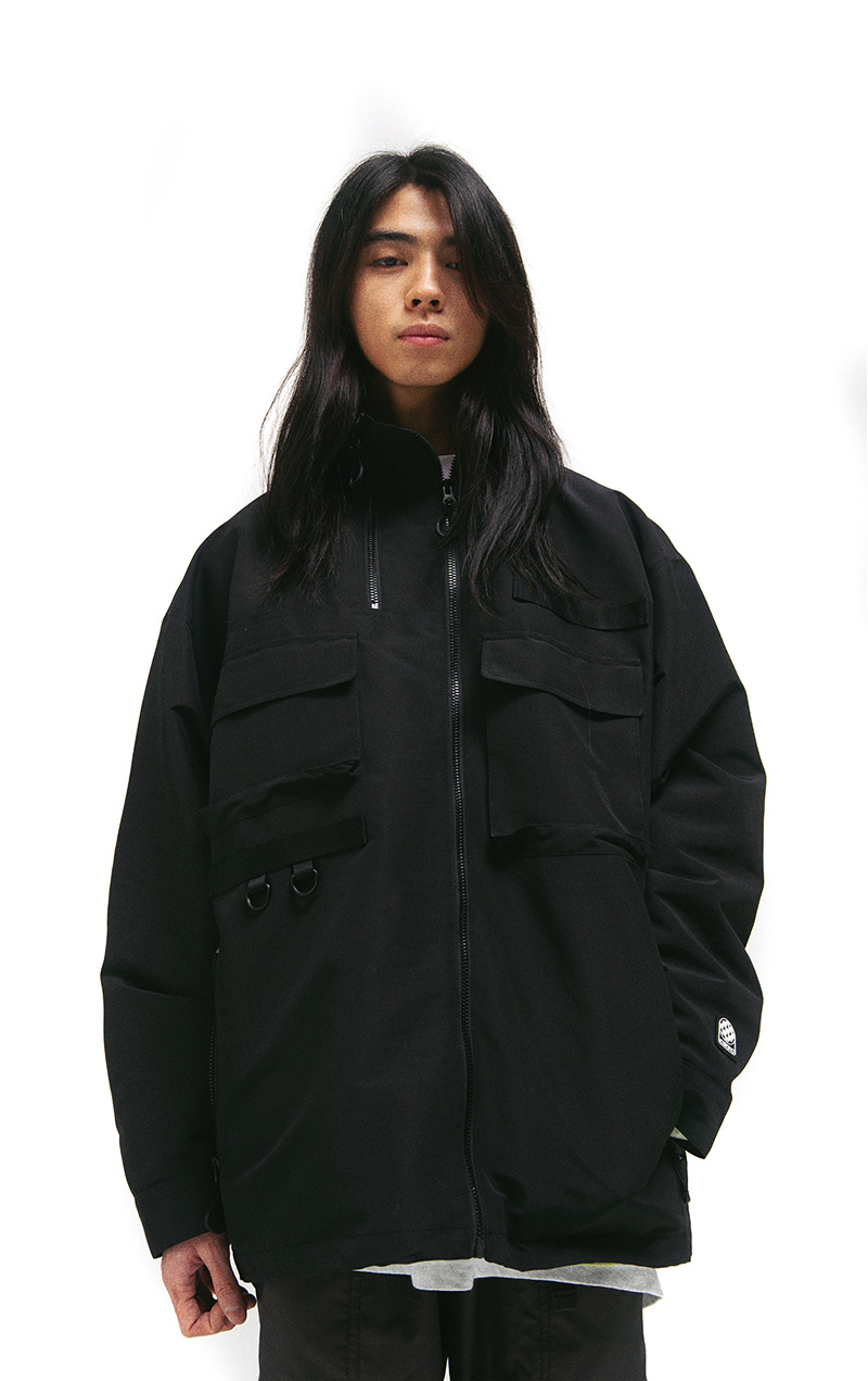 UTILITY 2-WAY JACKET(BLACK)_CTTZPJK06UC6