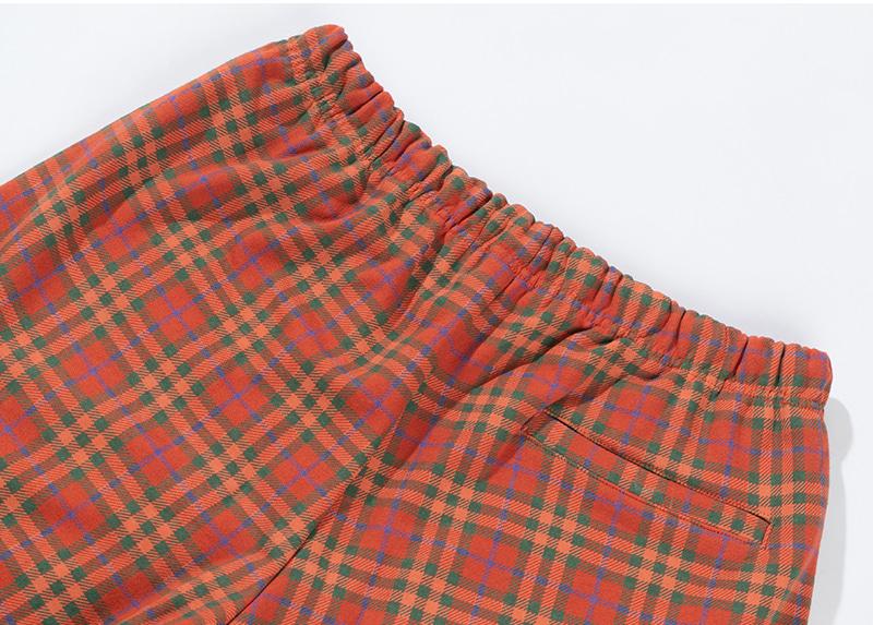CHECK PATTERN SHORT PANTS(ORANGE)_CTTZUSP01UO0