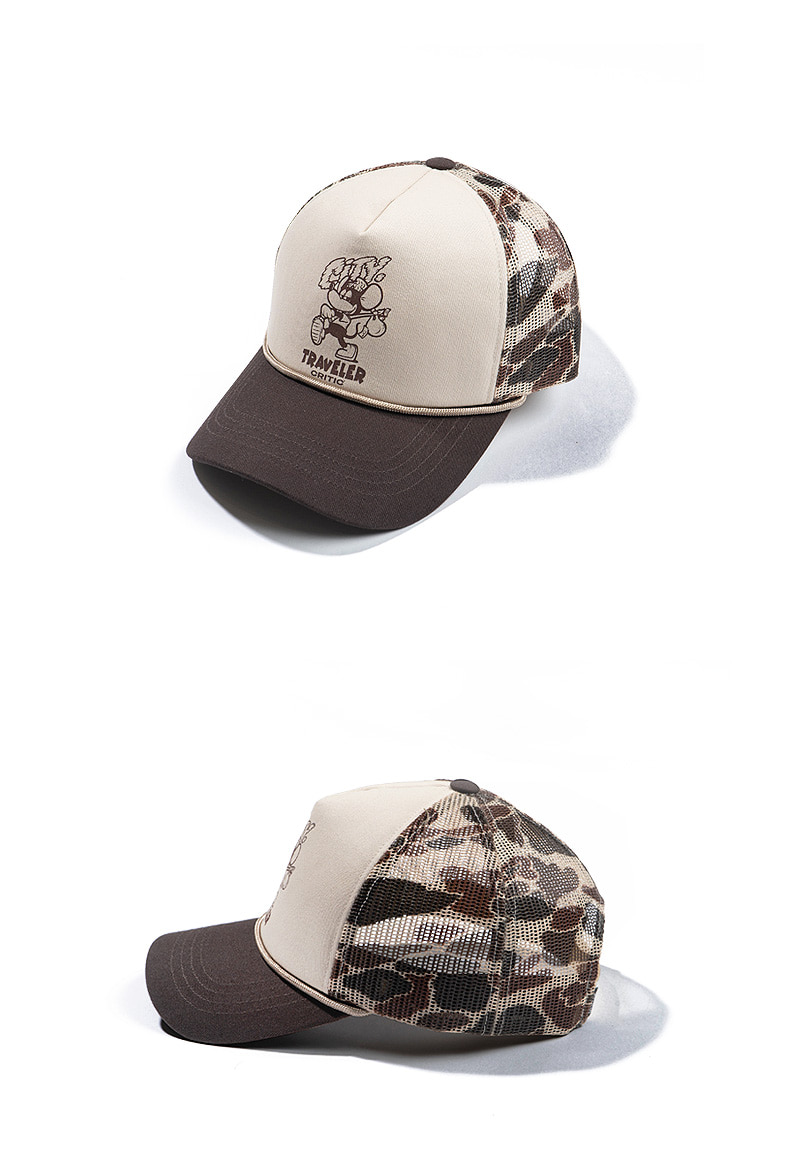 TRAVELER TWILL MESH CAP(CAMO)_CTTZUHW05UK1