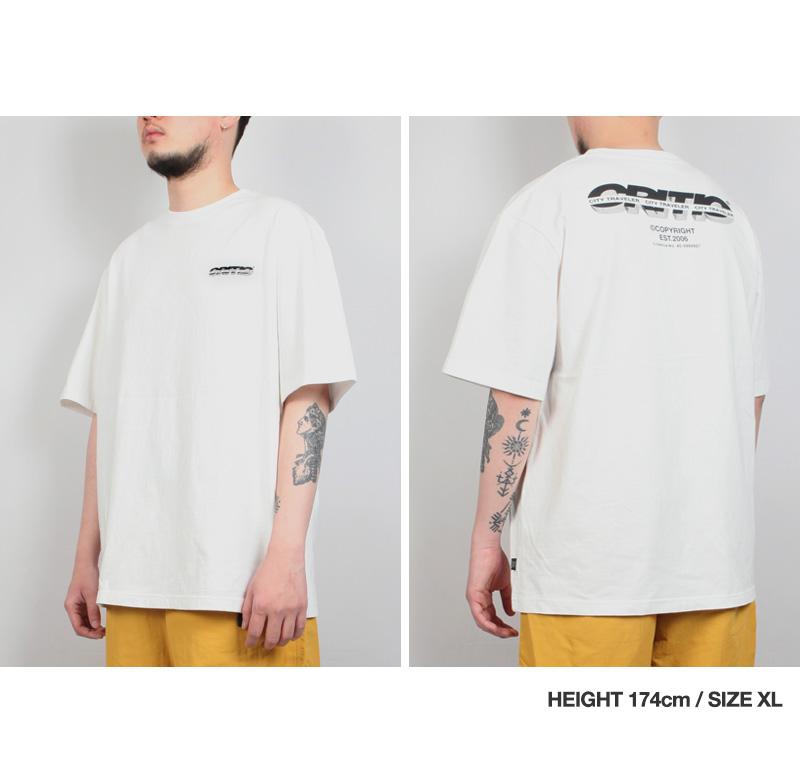 SPLIT LOGO T-SHIRT(WHITE)_CTTZURS03UC2